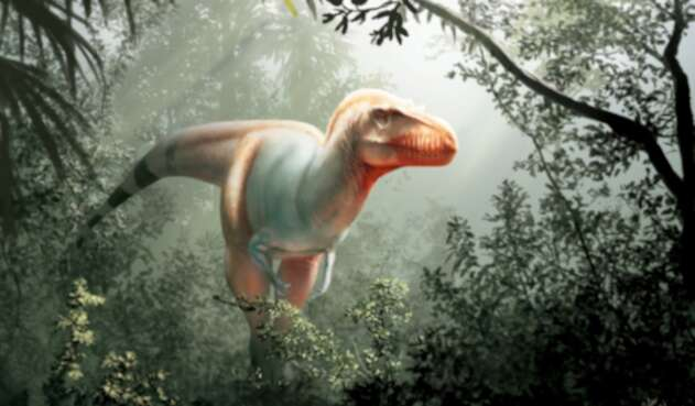Dinosaurio pintura