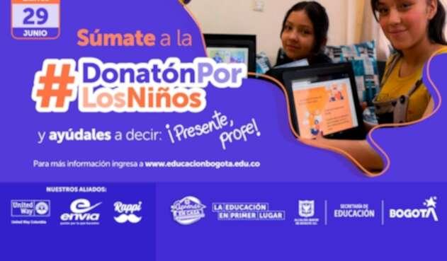 Donatón por los niños