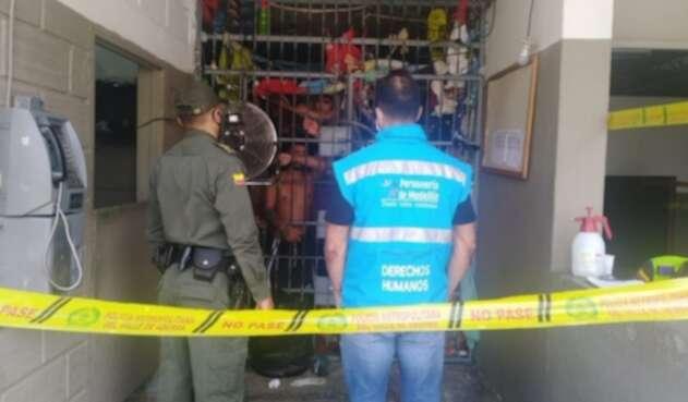 Estaciones de Policía de Medellín.