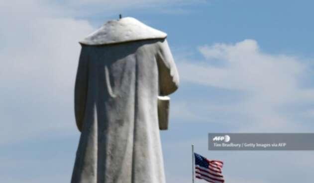 Estatua de Cristóbal Colón en Boston