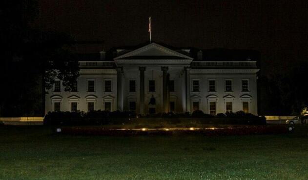 La Casa Blanca apaga sus luces externas