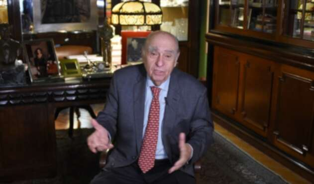 Julio María Sanguinetti, expresidente de Uruguay
