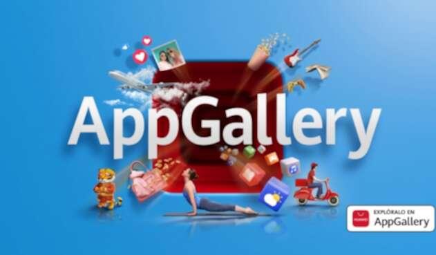 Imagen comercial AppGallery-Huawei