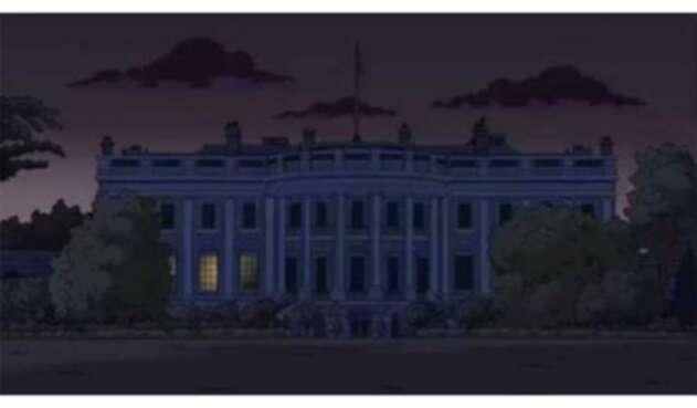 Los Simpsons y la supuesta predicción en la Casa Blanca