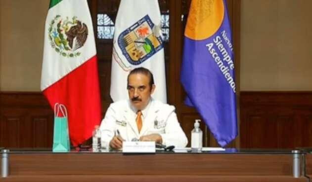 Manuel de la O Cavazos, secretario de Salud del estado de Nuevo León