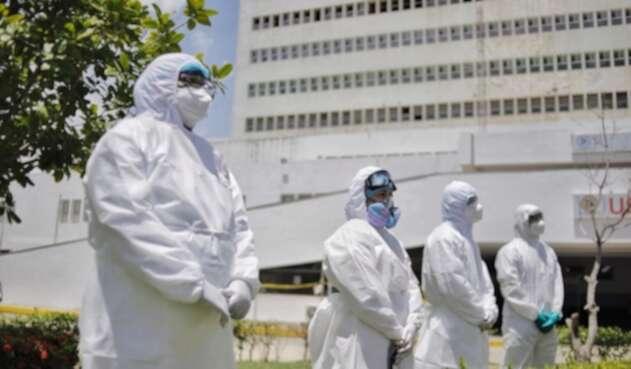 Pruebas de detección de Covid-19 casa a casa en Cartagena