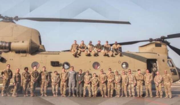 Militares estadounidenses en la alta Guajira