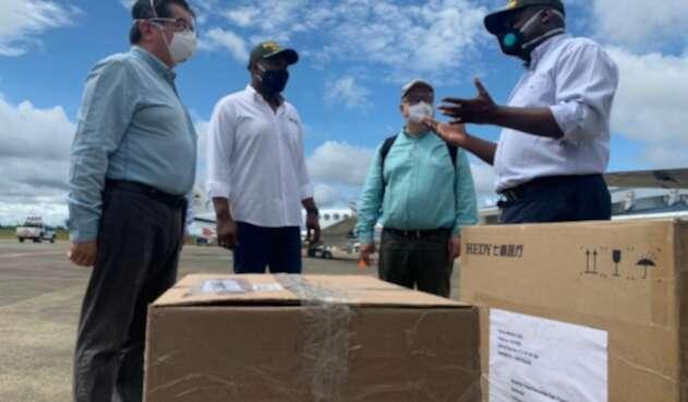 Ministro de Salud en su visita a Chocó