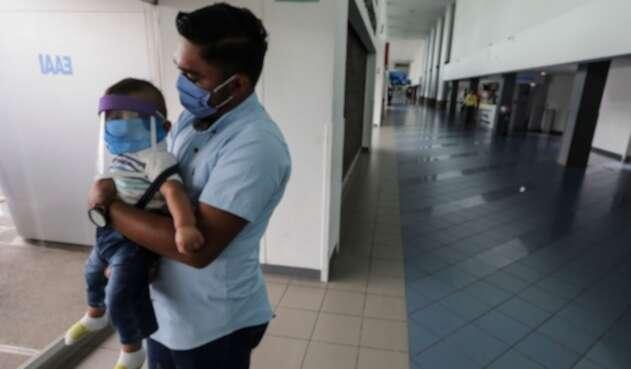 Coronavirus niños contagiados