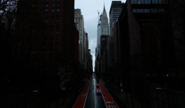 Toque de queda en Nueva York
