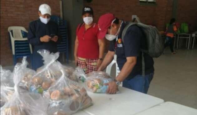En total se entregaran mas de 70 mil kits nutricionales PAE