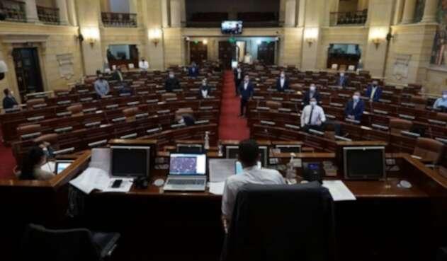 Cámara de Representantes / Cuarentena en Colombia