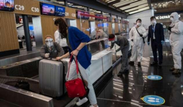 Aeropuertos en medio de la pandemia