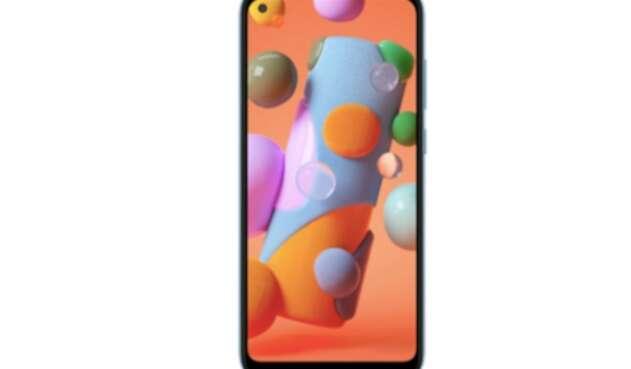 Samsung A 11, nuevo modelo de la marca