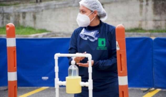 Los vehículos también serán desinfectados