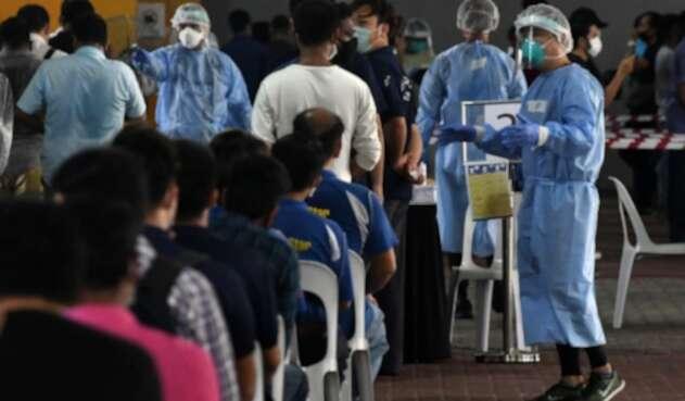 Coronavirus en Singapur