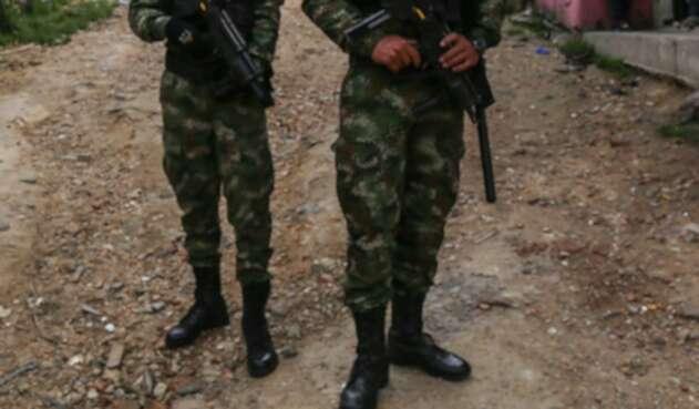 Soldados del Ejército