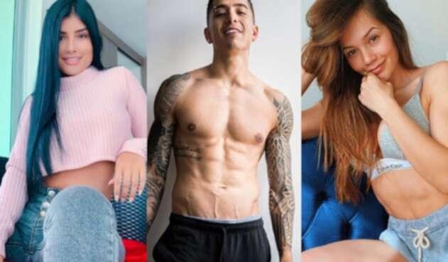 Danniela Duque, Andy Rivera, Lina Tejeiro
