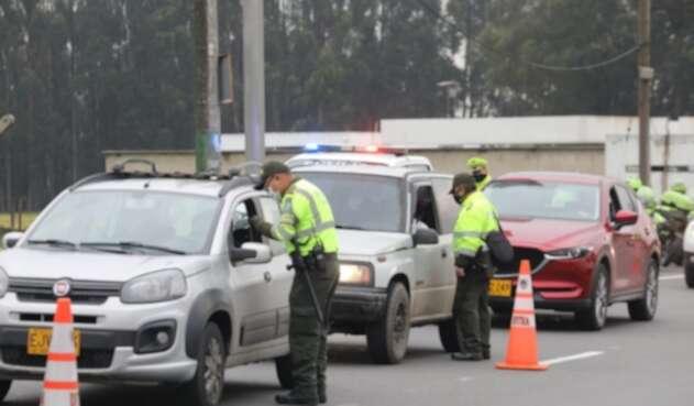 Sanciones en vías de Cundinamarca