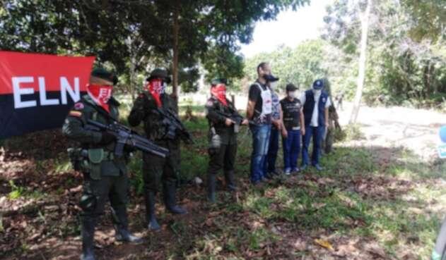 Así fue la entrega de los secuestrados en Arauca