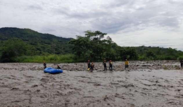 Rescate, Casanare, inundación