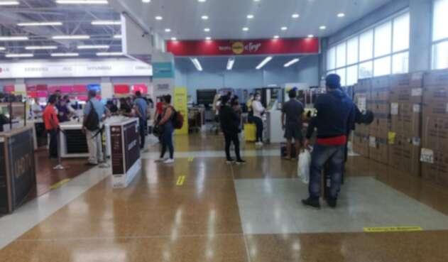 Centro comercial en Bucaramanga.