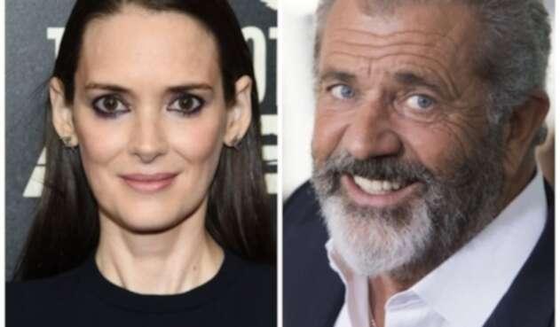 Winona Ryder y Mel Gibson