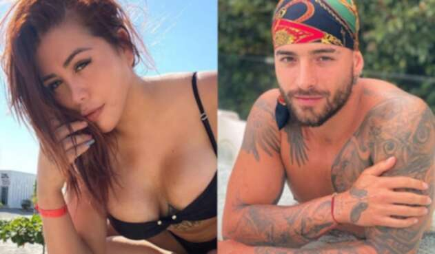 Yina Calderón y Maluma