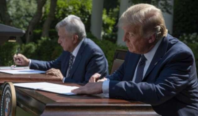 Andrés Manuel López Obrador, Donaldo Trump