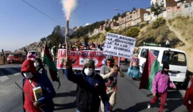 marchas bolivia