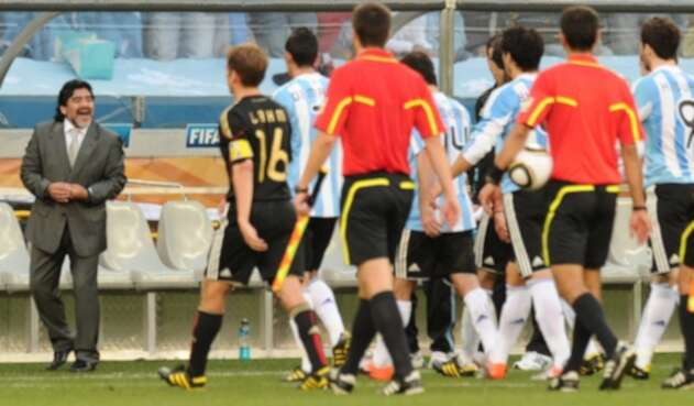 Argentina vs Alemania, Sudáfrica 2010