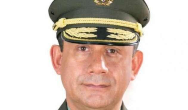 El general Óscar Gómez, comandante de la metropolitana de Bogotá