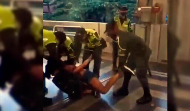 Mujer trans agredida en Metro de Medellín