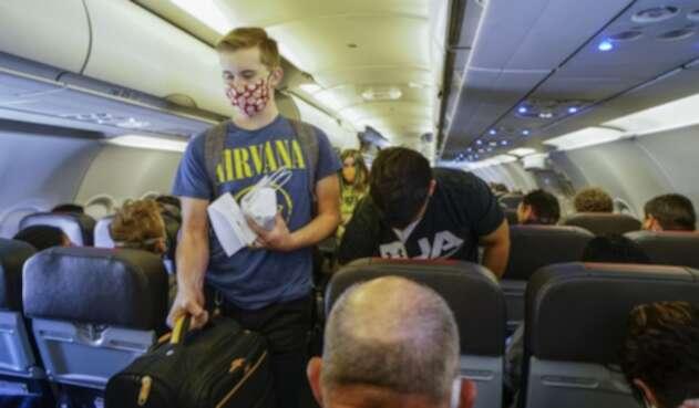Avión de American Airlines / vuelos en coronavirus