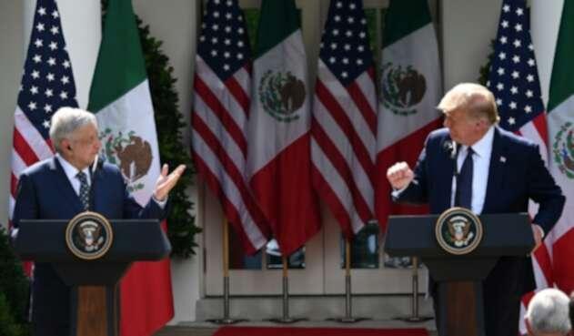 Reunión entre Trump y López Obrador