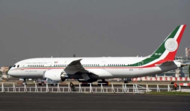 Avión presidencial de México