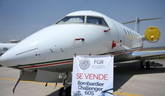 Avión presidencial de México en venta