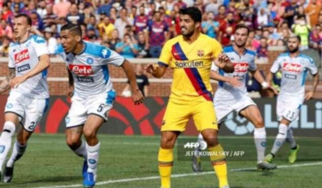 Barcelona vs. Napoli