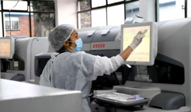 Laboratorio del hospital Santa Clara