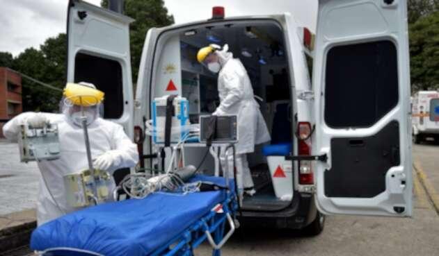 Coronavirus en Bogotá / pacientes contagiados