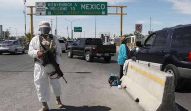 Controles en frontera Estados Unidos-México
