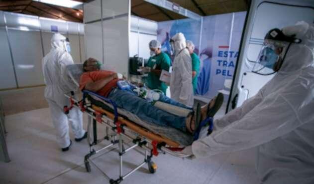 Contagiados de coronavirus en Brasil