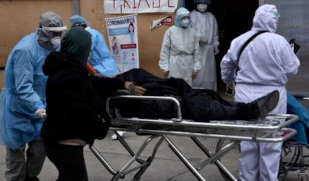 Pacientes contagiados de coronavirus en Bolivia