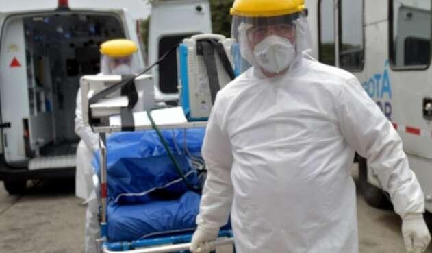 Pacientes contagiados de coronavirus en Colombia / coronavirus en Bogotá