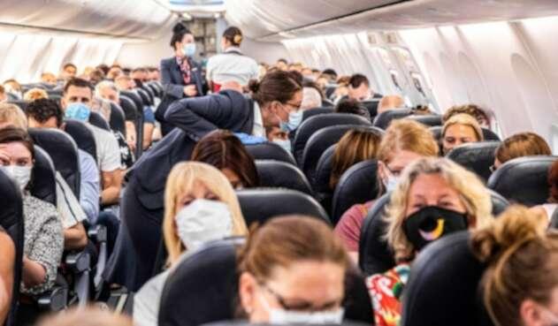Aviones en época de coronavirus