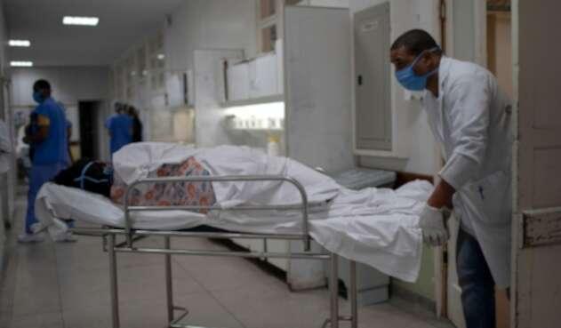 Coronavirus en Brasil / pacientes contagiados de coronavirus