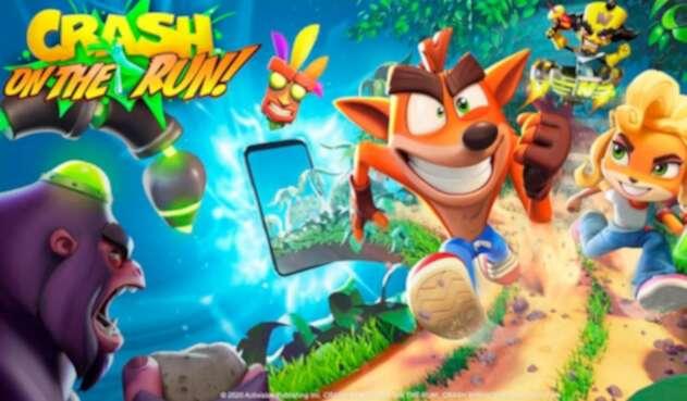 Crash Bandicoot: On the Run, nuevo juego para móviles