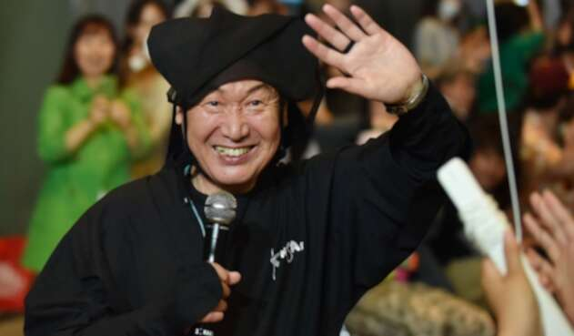 El diseñador japonés Kansai Yamamoto