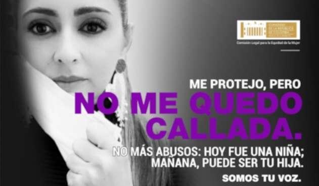 Comisión de la Mujer campaña no me quedo callada