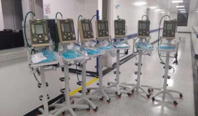 El departamento está solicitando al Ministerio de Salud la entrega de 40 ventiladores más